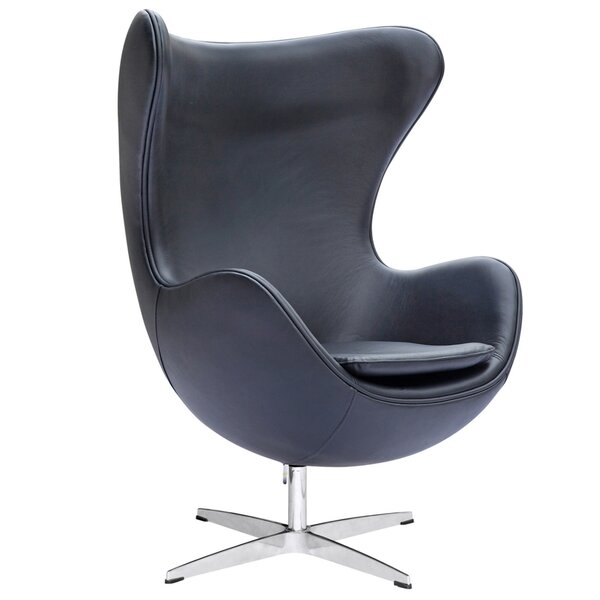 Inner Swivel Wingback Chair by Fine Mod Imports