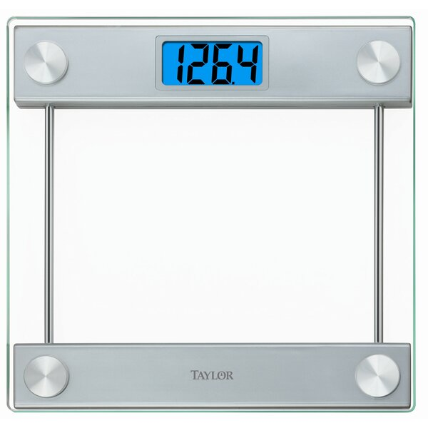 Glass Digital 14.3 Bath Scale by Taylor