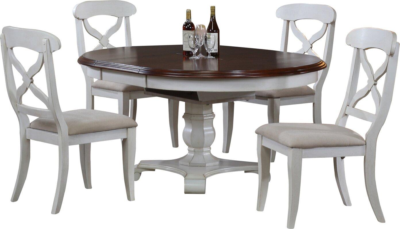 Pedestal Kitchen & Dining Room Sets You\'ll Love | Wayfair