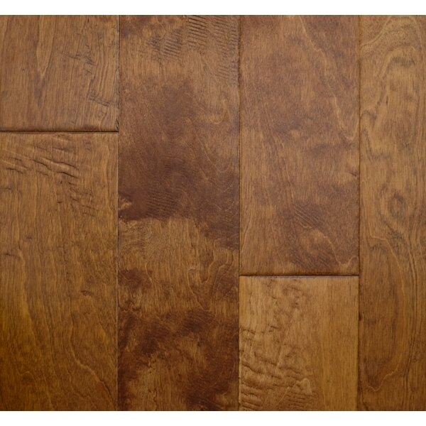 Modern Home 5 Engineered Birch Hardwood Flooring in Sepia by Albero Valley