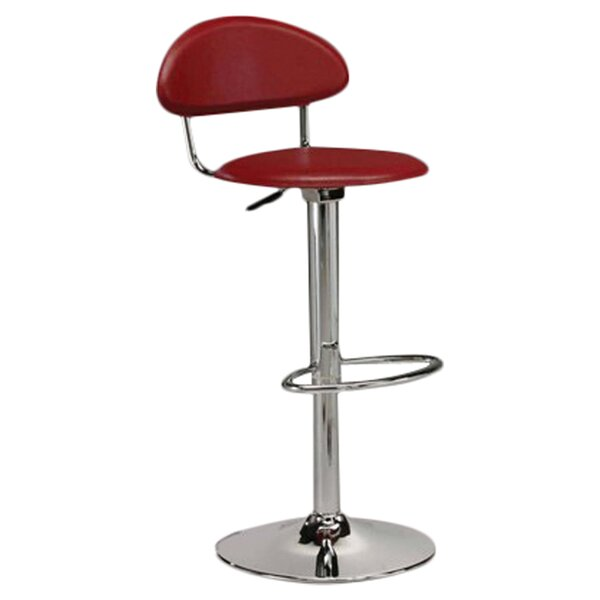 Willie Swivel Adjustable Height Bar Stool by Orren Ellis Orren Ellis