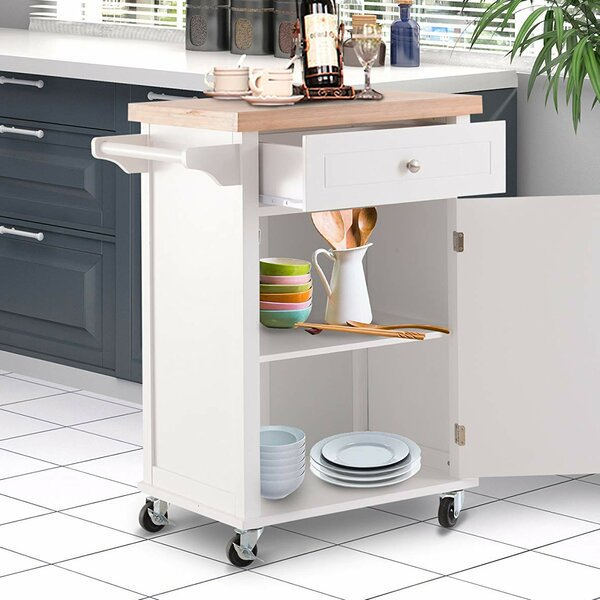 Khoury Kitchen Cart by Red Barrel Studio