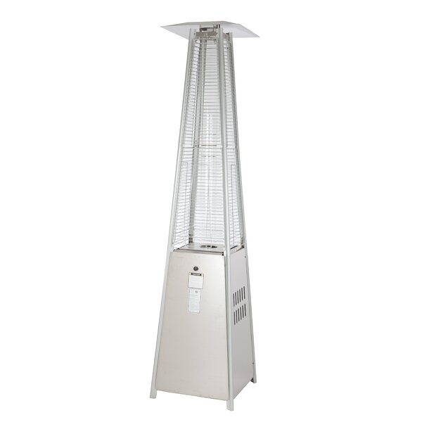 Pyramid Flame 40,000 BTU Propane Patio Heater by Fire Sense