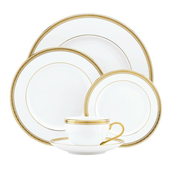 Oxford Place Bone China 5 Piece Place Setting, Service for 1 by kate spade new york