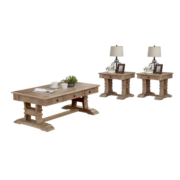 Mullin 3 Piece Coffee Table Set by Canora Grey Canora Grey
