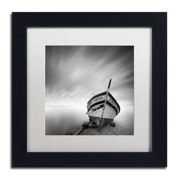 Boat I by Moises Levy Framed Photographic Print by Trademark Fine Art