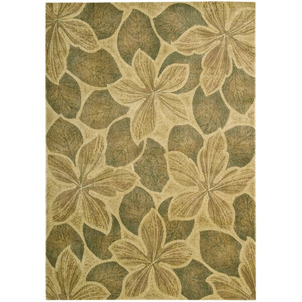 Ellerbe Light Gold Area Rug by Bay Isle Home