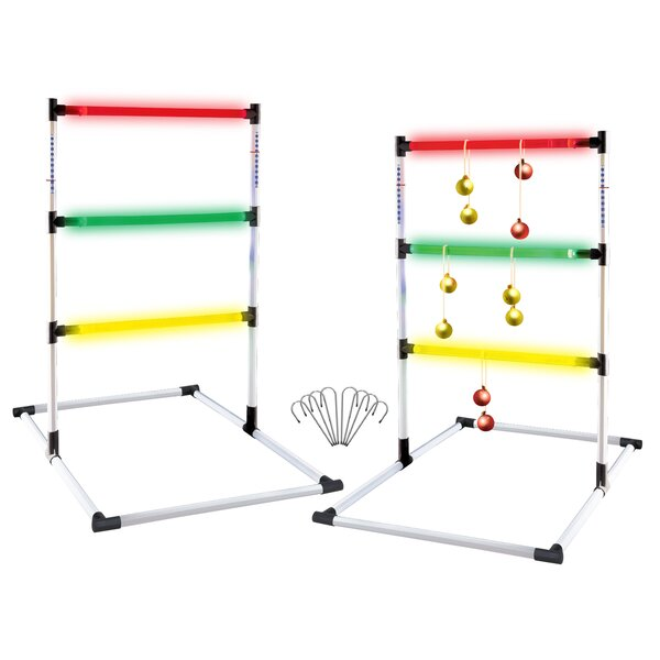 Glo-Bright Chuck-a-Ball Ladder Game by Verus Sports