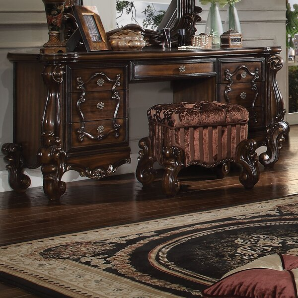 Welton Desk Vanity by Astoria Grand