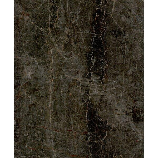 Nevada 12 x 12 Marble Field Tile in Dark Gray by Seven Seas