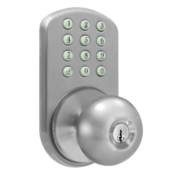 Electronic Door Knob by Milocks