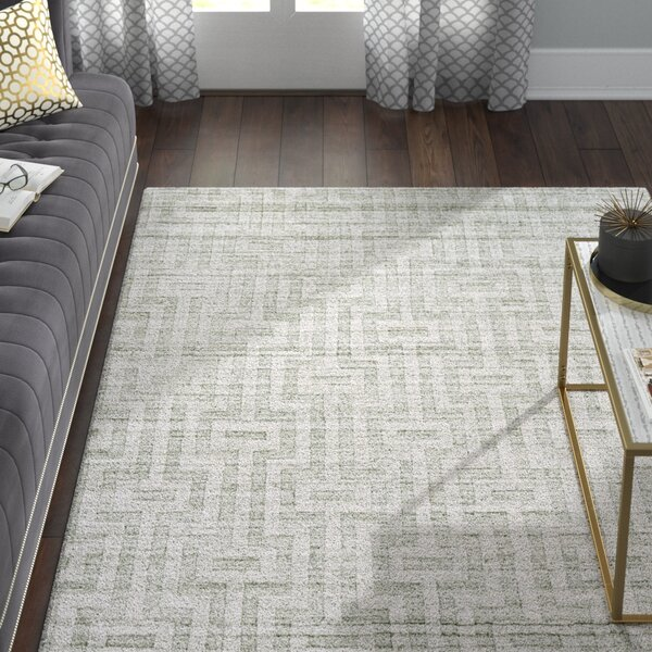 Damiane Hand Woven Fog Area Rug by Willa Arlo Interiors