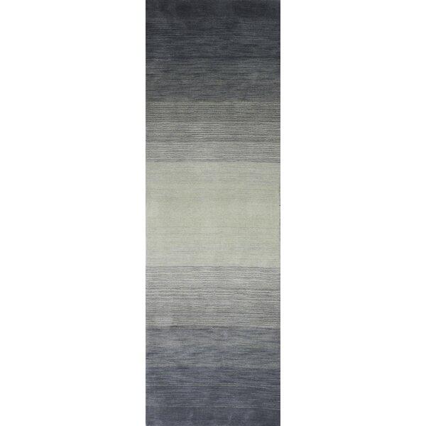 Kimberley Hand-Loomed Slate Area Rug by Latitude Run