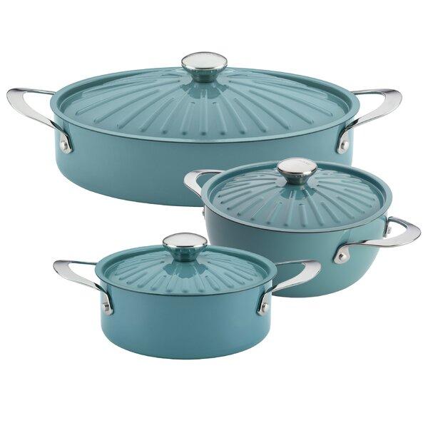 Cucina 6 Piece Non-Stick Cookware Set by Rachael Ray