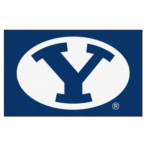 Collegiate NCAA Brigham Young University Doormat by FANMATS