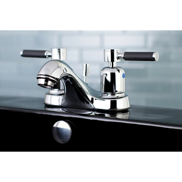 Kaiser Centerset Bathroom Faucet With Drain Assembly By Kingston Brass