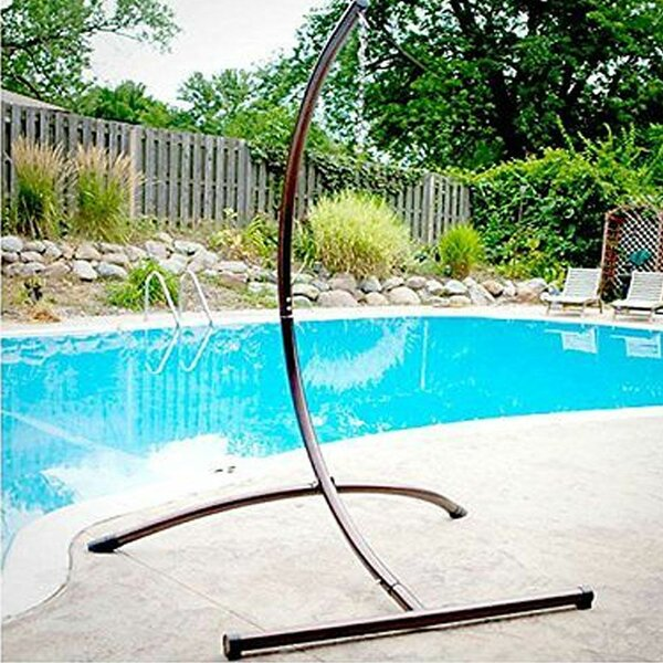 Kaleigh C Type Swing Chair Hammock Stand by Rosecliff Heights Rosecliff Heights