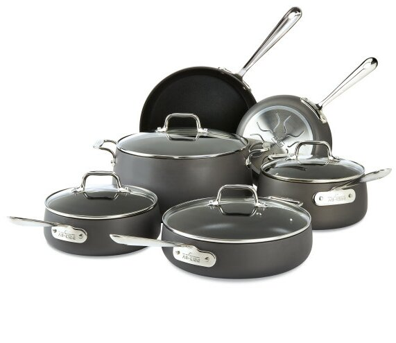 HA1 10-Piece Non-Stick Cookware Set by All-Clad