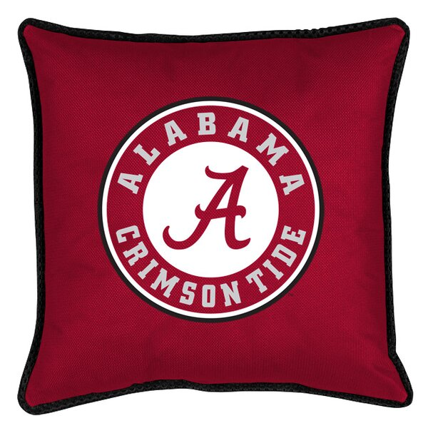 NCAA Sidelines Throw Pillow by Sports Coverage Inc.