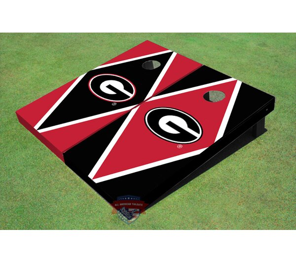 NCAA Diamond Cornhole Board (Set of 2) by All American Tailgate