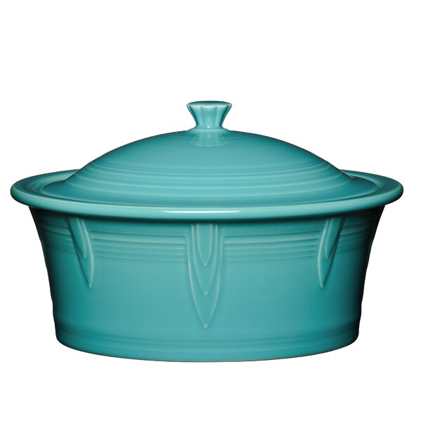 2.81 Qt. Round Covered Casserole by Fiesta
