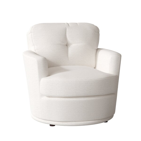 Shala Swivel Barrel Chair by Latitude Run
