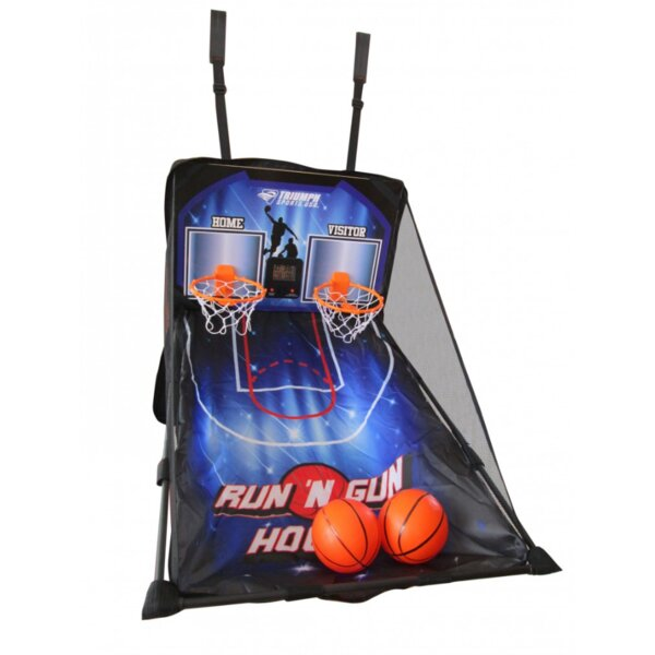 Run 'N Gun over the Door 2 Player Basketball with Carry Bag by Escalade Sports