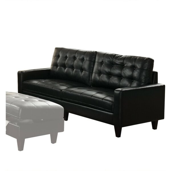 Meltzer Transitional Button Tufting Sofa by Red Barrel Studio