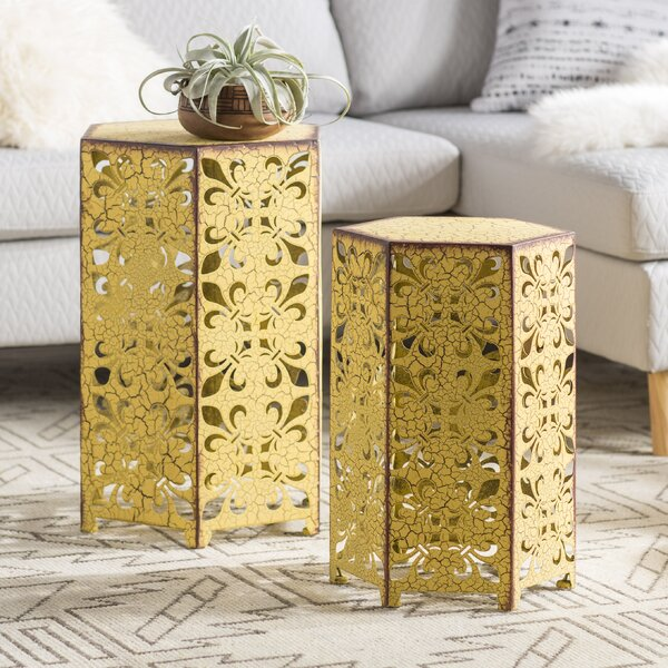 Lexia 2 Piece Nesting Tables by Mistana Mistana