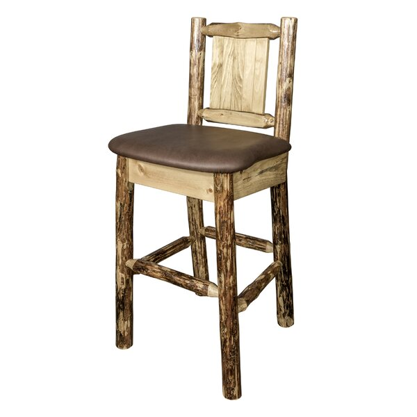 Southborough 24 Square Bar Stool by Loon Peak
