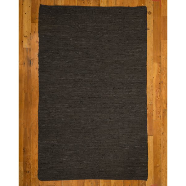 Hand-Loomed Brown Area Rug by Natural Area Rugs
