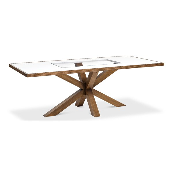 Bairoil Solid Wood Dining Table by Gracie Oaks Gracie Oaks