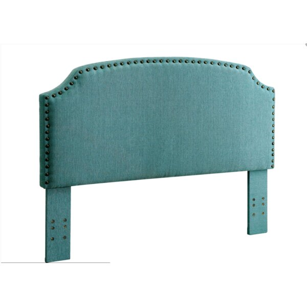 Annabel Upholstered Panel Headboard by Charlton Home
