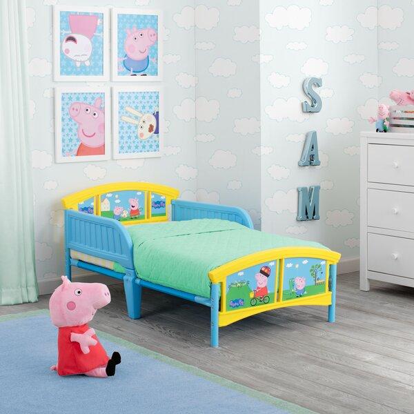 Peppa Pig Plastic Toddler Platform Bed by Delta Children