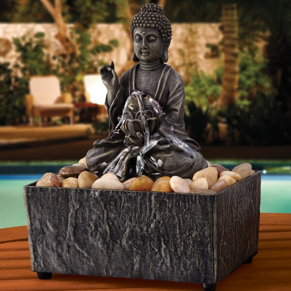 Zen Buddha Fountain by Order Home Collection