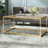 Honea Sled Coffee Table by Mercer41