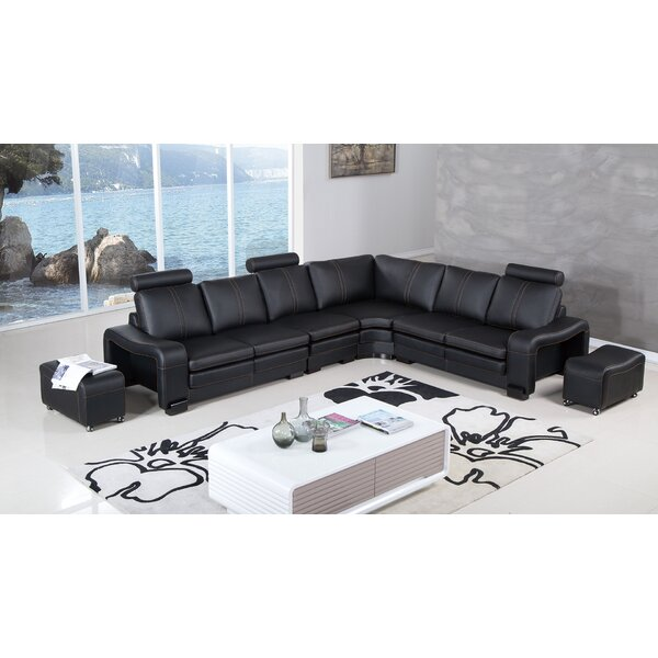 Hengrove Right Hand Facing Sectional With Ottoman By Orren Ellis