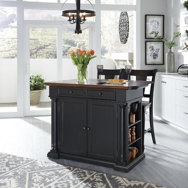 Kamryn Kitchen Island Set by Darby Home Co
