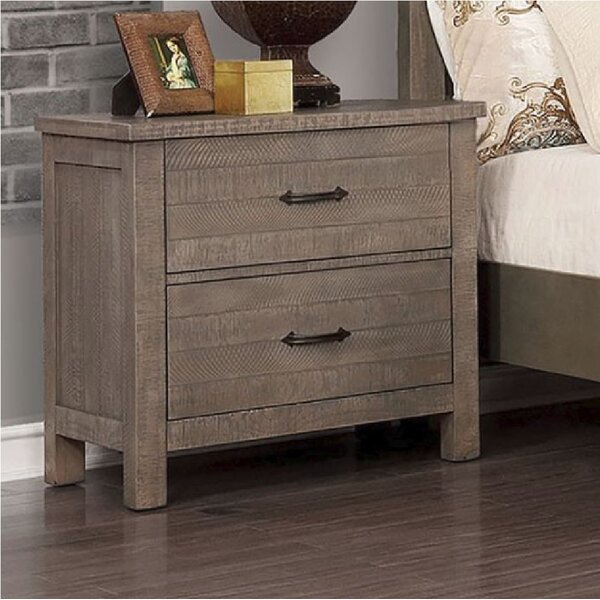 Kasen 2 Drawer Nightstand by Gracie Oaks
