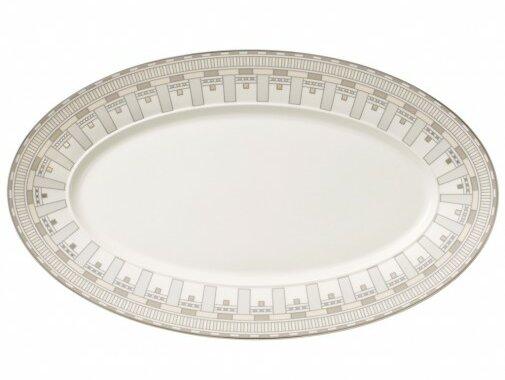 La Classica Contura Oval Platter by Villeroy & Boch