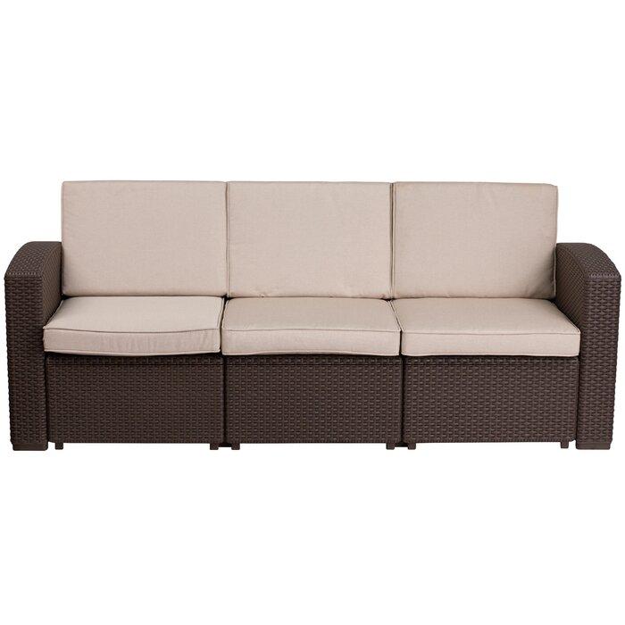 Fine Clifford Patio Sofa With Cushions Cjindustries Chair Design For Home Cjindustriesco