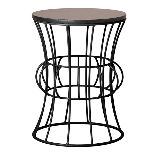 Greenough Metal Accent Stool by Brayden Studio