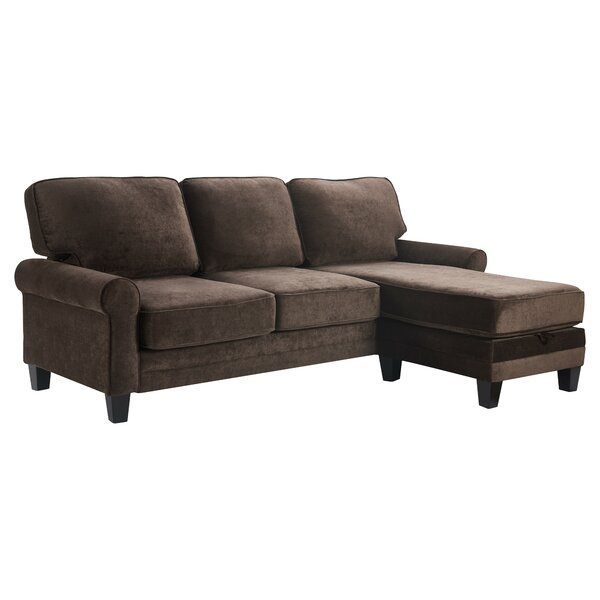 Copenhagen Reversible Sectional With Ottoman By Serta At Home Best #1