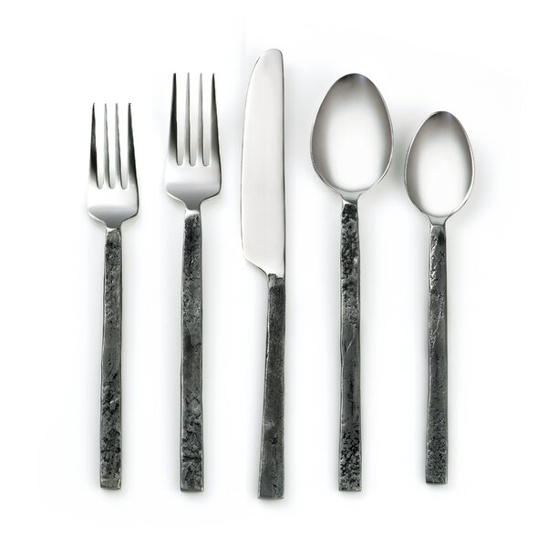 Poteet 20 Piece Flatware Set by Greyleigh