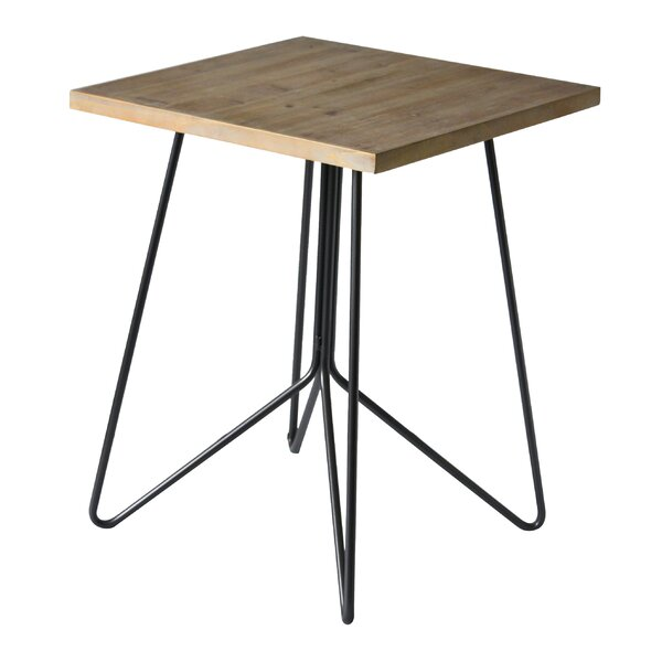 Molnar Top Square End Table By Wrought Studio