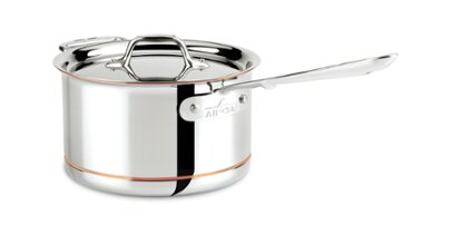 Copper Core Saucepan with Lid and Loop by All-Clad