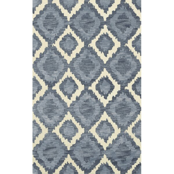 Bella Machine Woven Wool Blue Area Rug by Dalyn Rug Co.