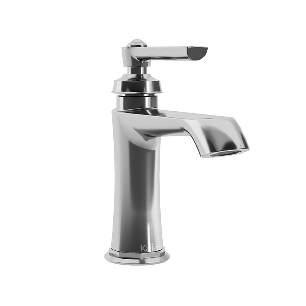 Rustik Single Hole Bathroom Faucet With Drain Assembly By Kalia