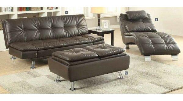 Renfro Configurable 3 Piece Living Room Set by Orren Ellis