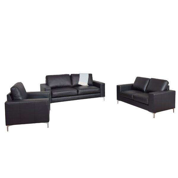 Greysen 3 Piece Living Room Set by Wade Logan